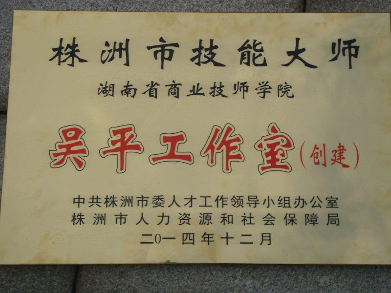 市级荣誉--技能大师工作室-吴平工作室.JPG